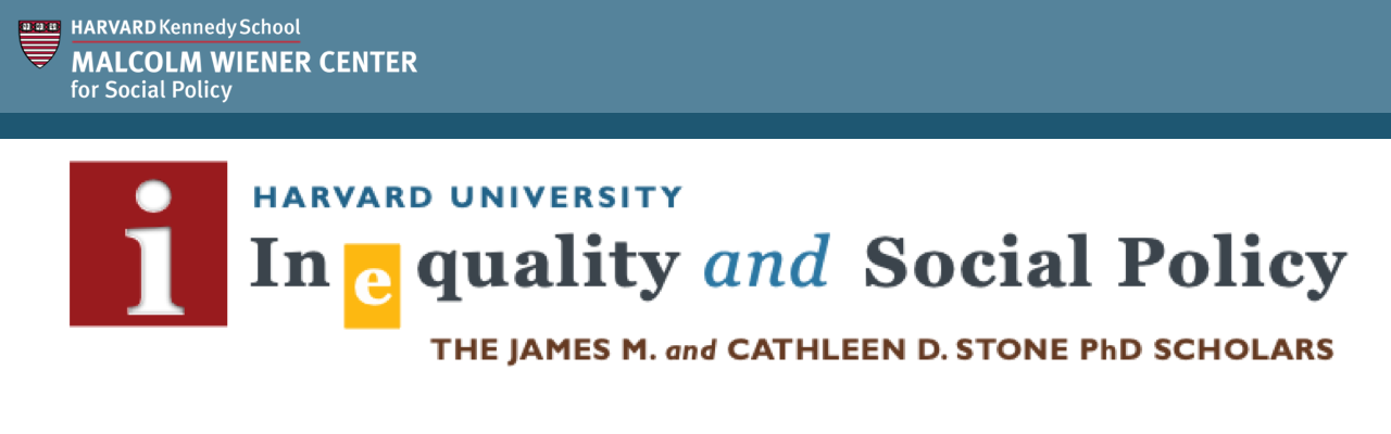 Harvard Inequality & Social Policy